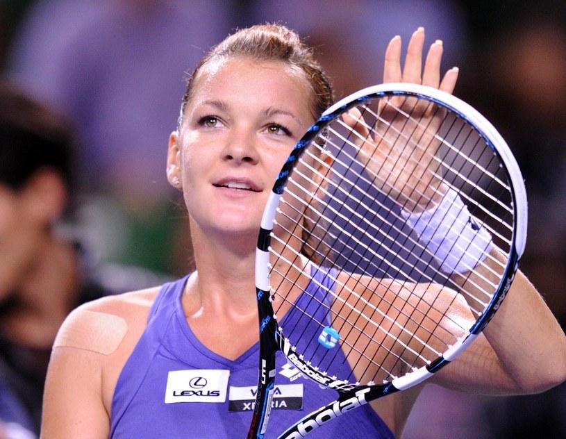 Agnieszka Radwańska zakończyła najlepszy sezon w karierze /AFP