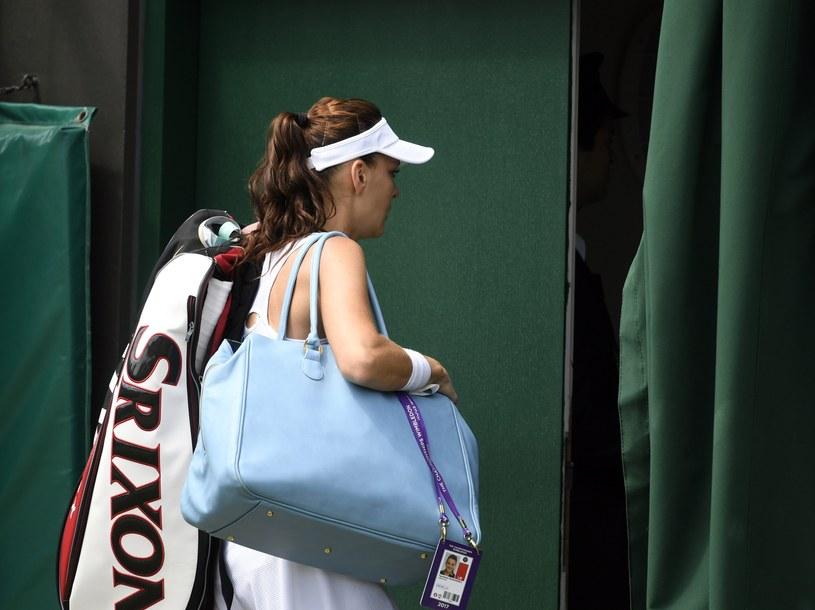 Agnieszka Radwańska zakończyła udział w Wimbledonie /PAP/EPA