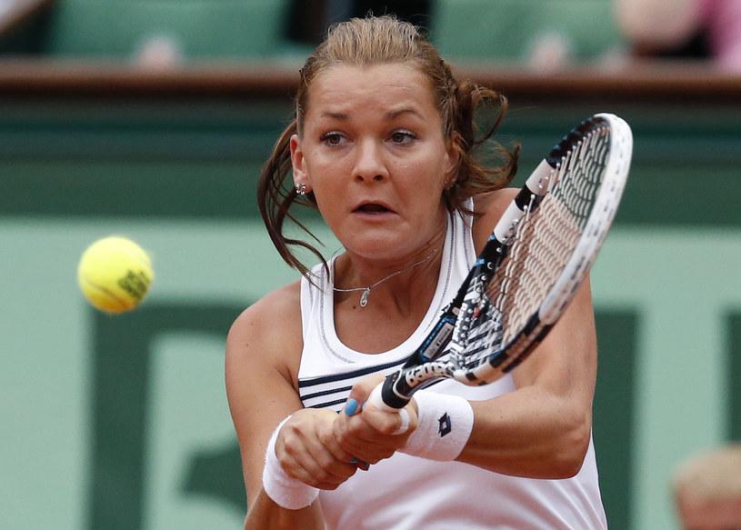 Agnieszka Radwańska /. /AFP