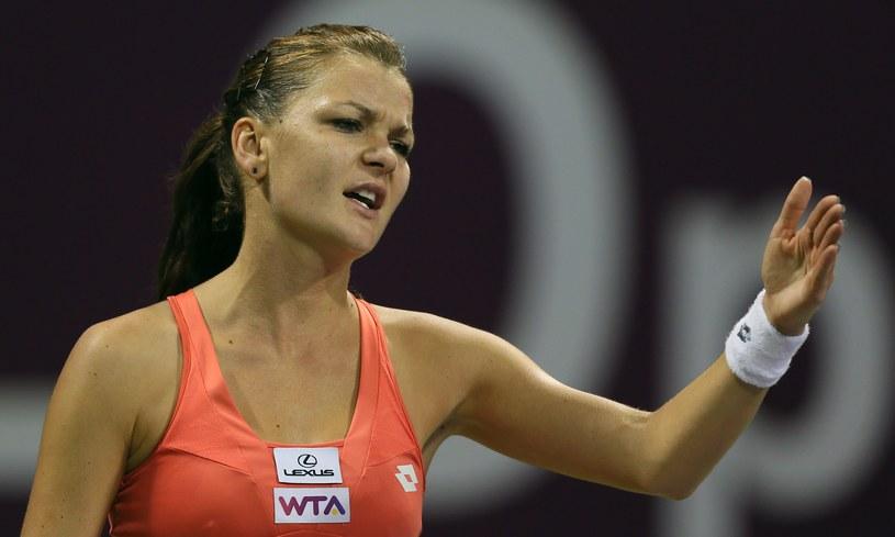 Agnieszka Radwańska /AFP