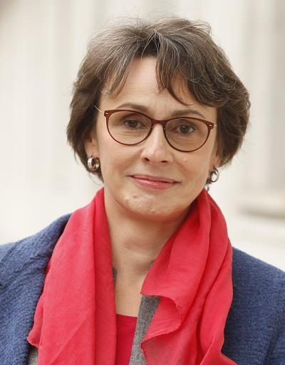 Agnieszka Romaszewska-Guzy, szefowa Biełsatu. Fot. Stefan Maszewski /Reporter