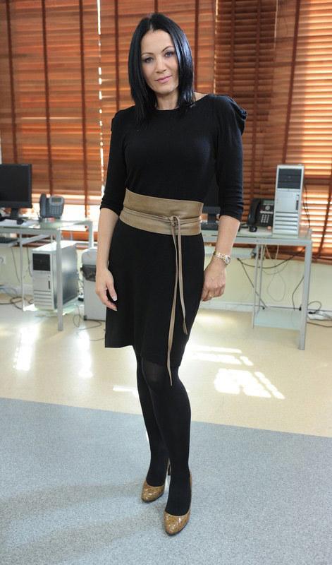 Agnieszka Rylik wygląda dzisiaj bardzo kobieco, fot.Bartosz Krupa  /East News