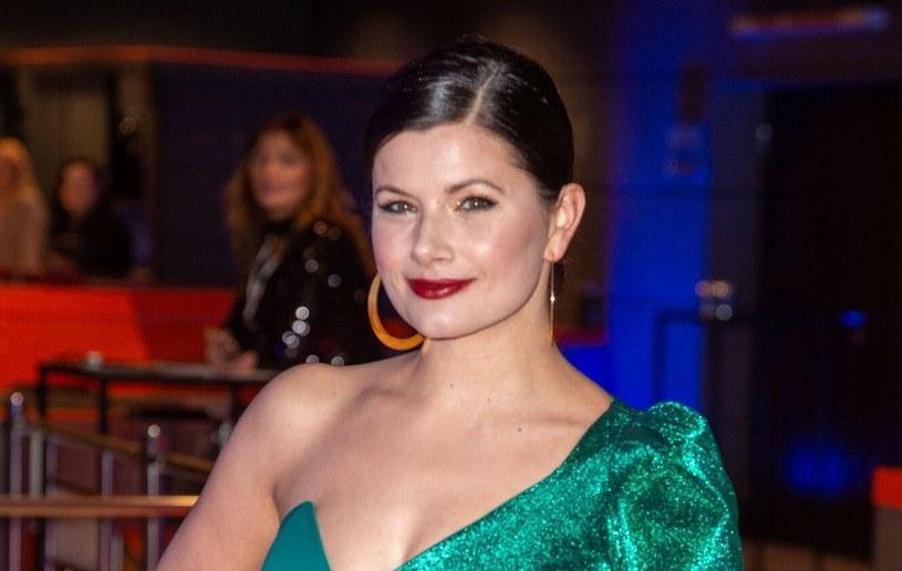 Agnieszka Sienkiewicz jest piękną kobietą /Artur Zawadzki /Reporter