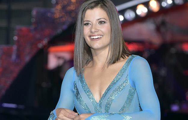 """Agnieszka Sienkiewicz na planie programu """"Dancing with the Stars. Taniec z gwiazdami  """" /AKPA"""