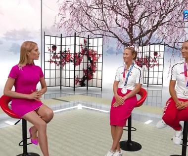 Agnieszka Skrzypulec: W pewnym momencie wyścigu poczułam dreszcz na plecach (POLSAT SPORT) Wideo