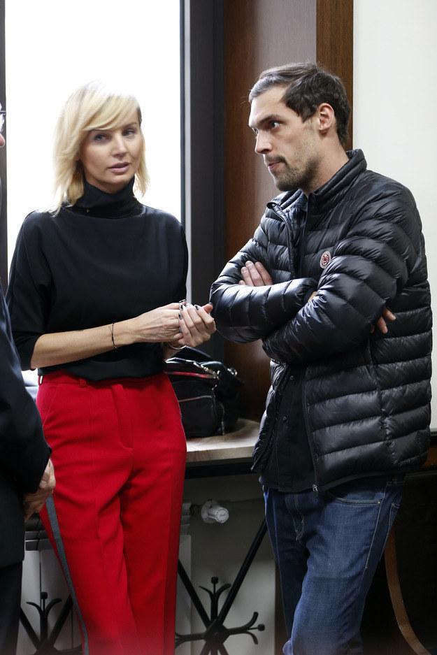Agnieszka Szulim i Maciej Żakowski rozstali się w lipcu 2014 r. /Foto IP
