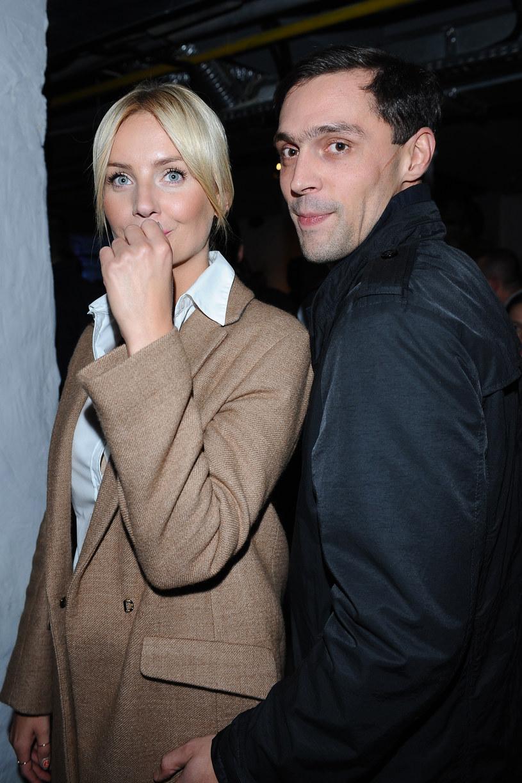 Agnieszka Szulim i Maciej Żakowski w 2013 roku /Andras Szilagyi /MWMedia