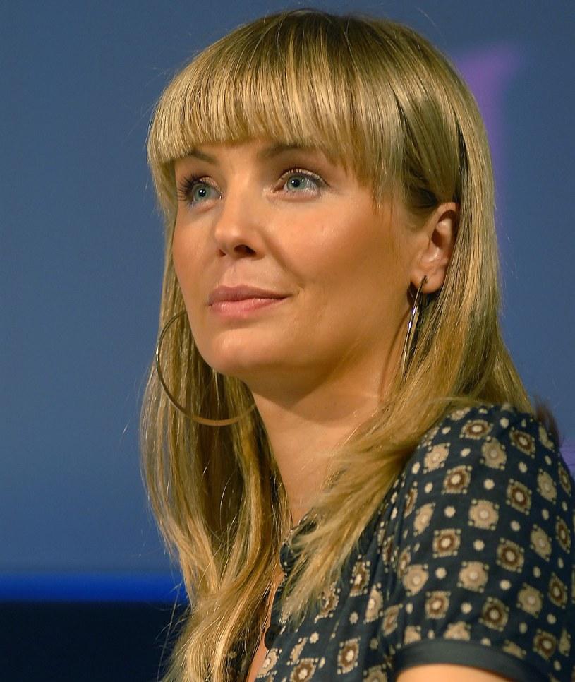 Agnieszka Szulim na zdjęciu w 2008 roku. W takiej grzywce trudno ją rozpoznać /MWMedia