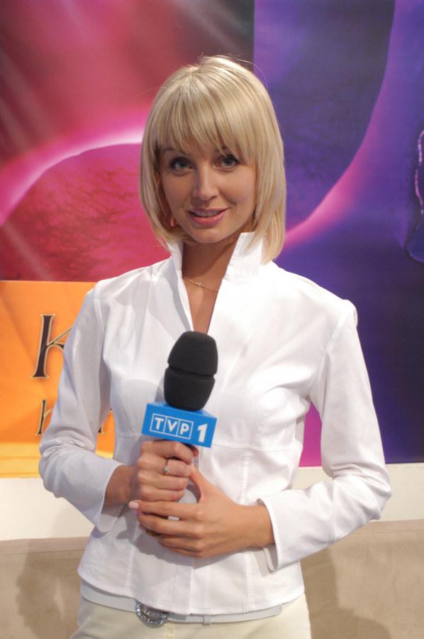 Agnieszka Szulim w czasach pracy w TVP /- /AKPA