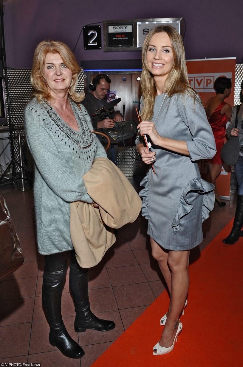 Agnieszka Szulim z mamą /- /East News