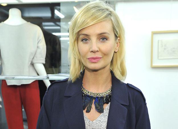 Agnieszka Szulim Zamiast świętować swoje 36. urodziny, musiała stawić się w sądzie /Kurnikowski /AKPA