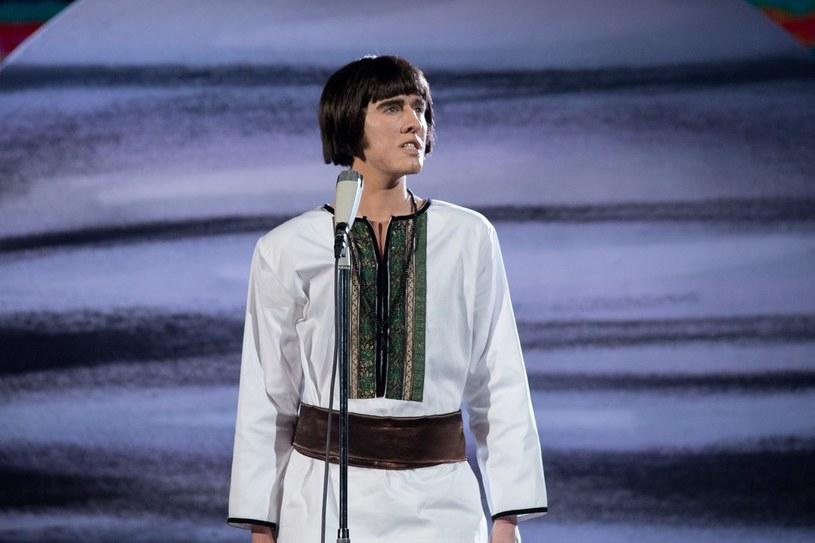 Agnieszka Twardowska jako Czesław Niemen /M. Zawada /Polsat