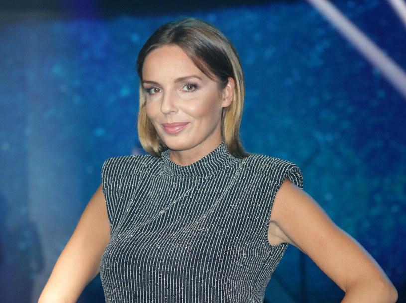 Agnieszka Włodarczyk niedawno została po raz pierwszy mamą /East News