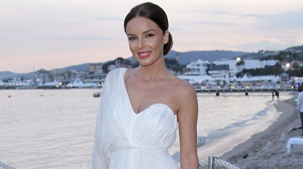 Agnieszka Włodarczyk promowała siebie i polskie kino w Cannes /AKPA