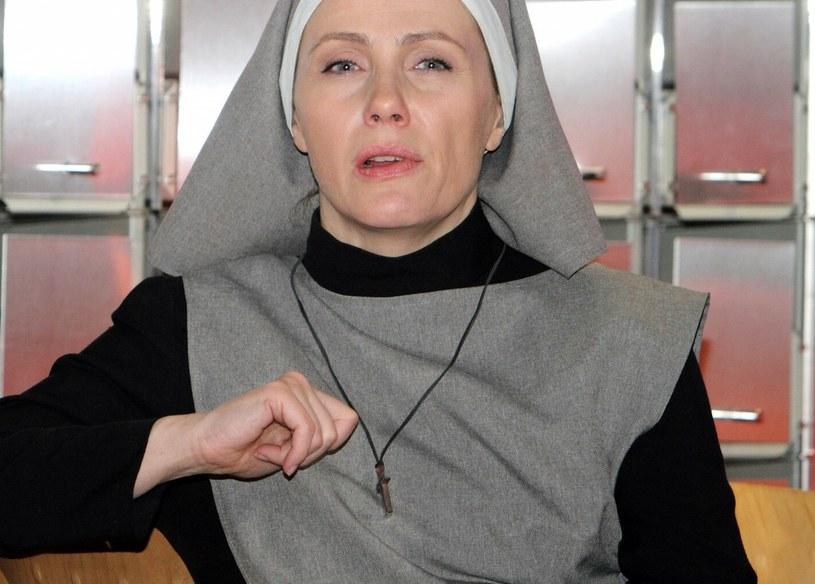 """Agnieszka Wosińska w pamiętnej roli w """"Klanie"""" /Jan Kucharzyk /East News"""