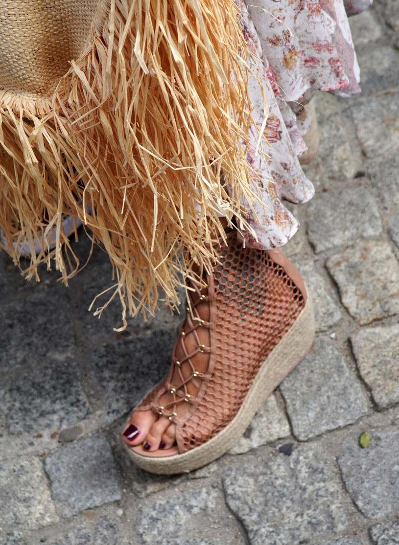 Agnieszka Woźniak-Starak i jej buty /Tricolors /East News