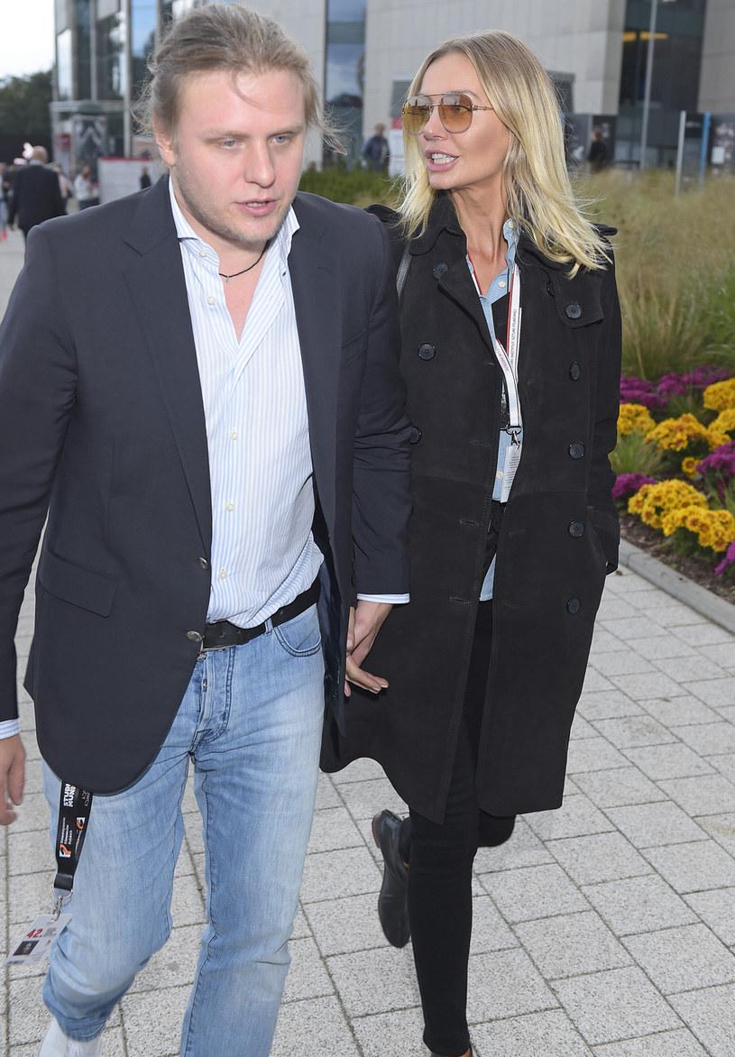 Agnieszka Woźniak-Starak i Piotr Woźniak-Starak /Kurnikowski /AKPA