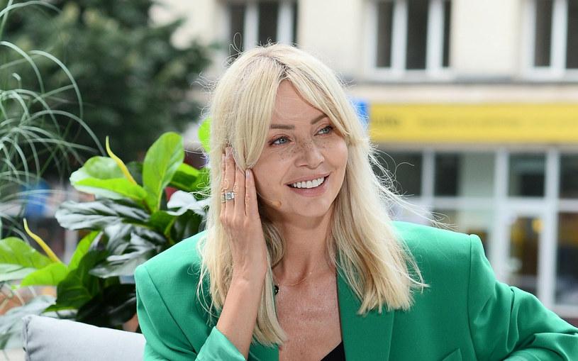 Agnieszka Woźniak-Starak zachwyciła swoimi ostatnimi stylizacjami /VIPHOTO /East News