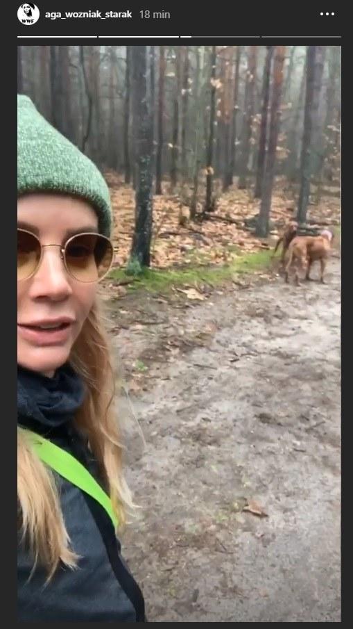 Agnieszka Woźniak-Starak /Instagram/@aga_wozniak_starak /Instagram