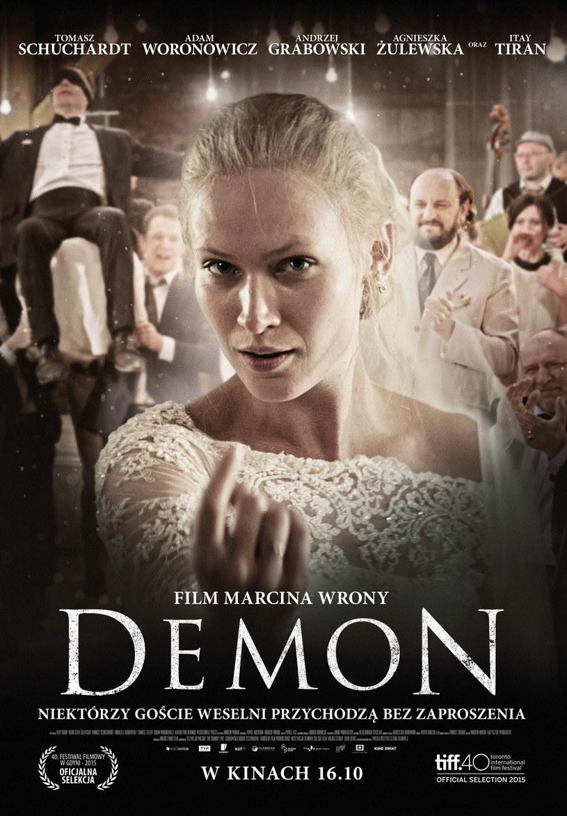 "Agnieszka Żulewska na plakacie filmu ""Demon"" /materiały dystrybutora"