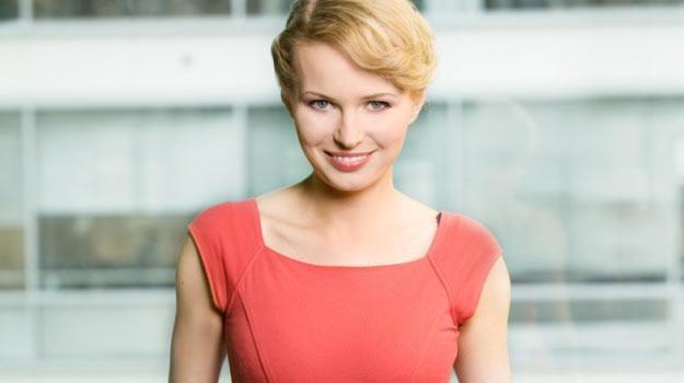 """Agnieszkę Cegielską możemy oglądać każdego ranka w programie TVN 24 """"Wstajesz i wiesz"""" . /TVN"""