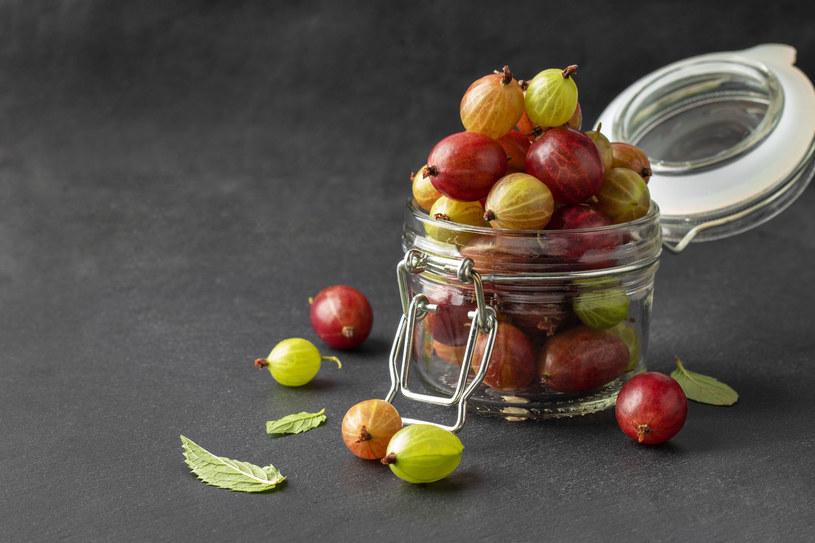 Agrest jest w ścisłej czołówce, jeżeli chodzi o owoce zawierające luteinę /123RF/PICSEL