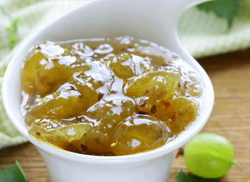 Agrest to również doskonały owoc na dżem! /123RF/PICSEL