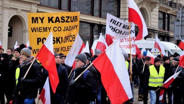 Agropowstanie - protest rolników w Warszawie