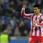 Aguero dobrze się czuje w Atletico Madryt