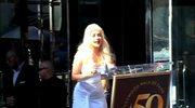 Aguilera dostała swoją gwiazdę