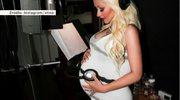 Aguilera mimo ciąży nie zwalnia tempa