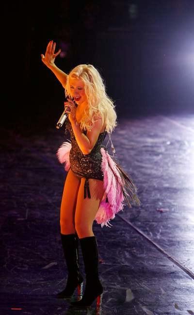 Aguilera - z daleka jak Doda, nieprawdaż?  /Getty Images/Flash Press Media