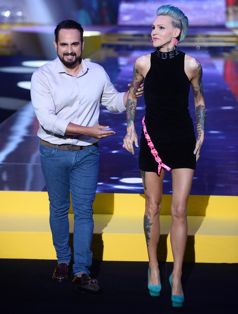 Agustin Egurrola, Agnieszka Chylińska /Jarosław Antoniak /MWMedia