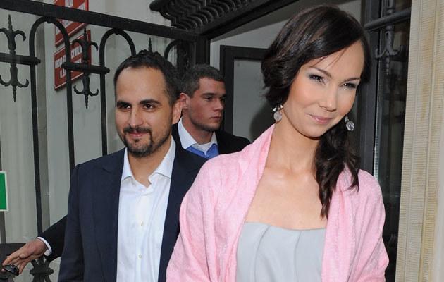 Agustin Egurrola i Nina Tyrka, fot. Andras Szilagyi  /MWMedia