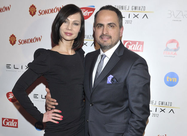 Agustin Egurrola i Nina Tyrka /Kurnikowski /AKPA