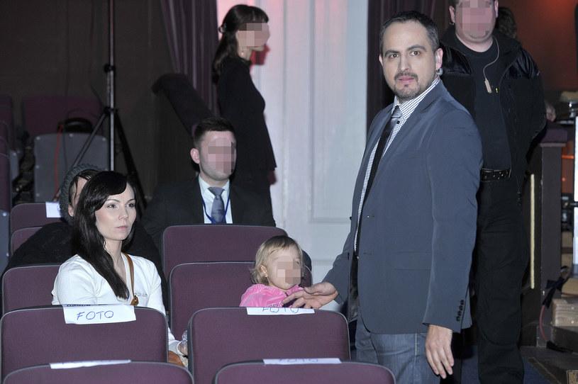 Agustin Egurrola, Nina Tyrka i ich córka Carmen /Baranowski /AKPA