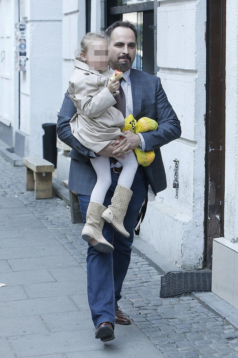 Agustin Egurrola z córką /Jordan Krzemiński /AKPA