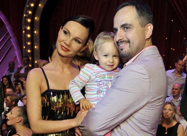 Agustin Egurrola z żoną i córką Carmen /Kurnikowski /AKPA