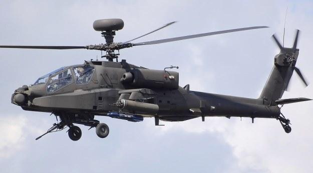 AH Mk 1 Apache produkowany przez AgustaWestland na licencji Boeinga /materiały prasowe