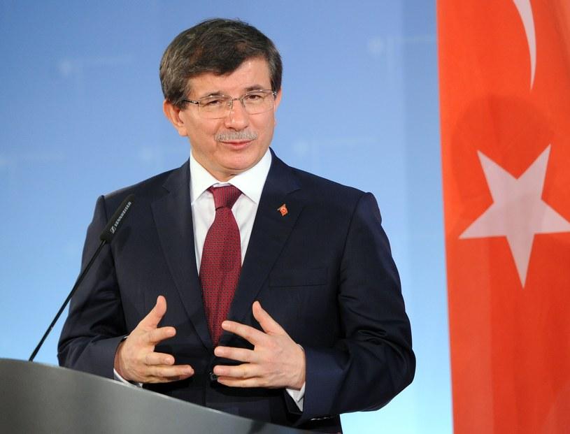 Ahmet Davutoglu /AFP