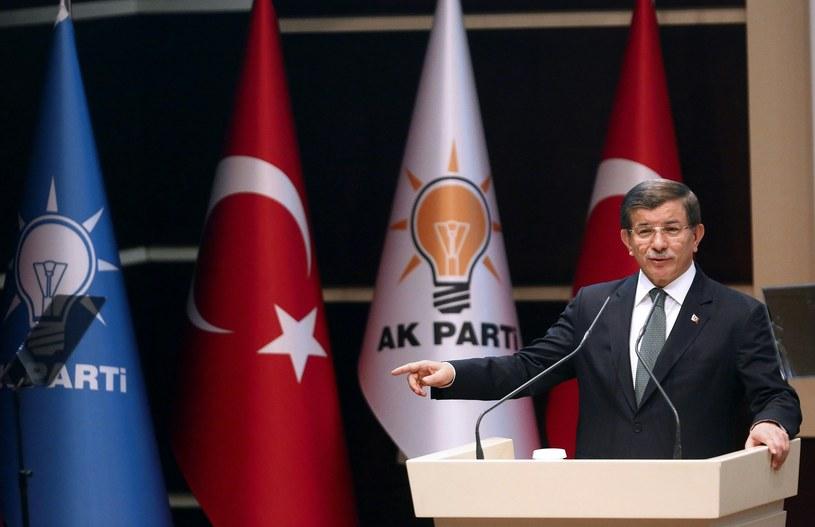 Ahmet Davutoglu /ADEM ALTAN /AFP