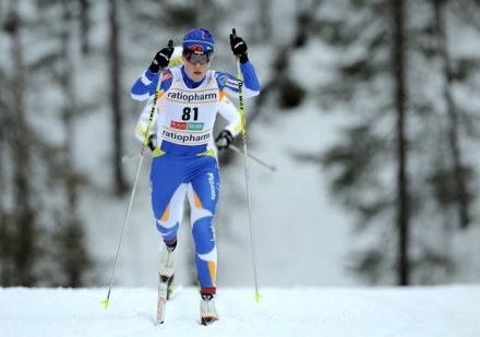 Aino Kaisa Saarinen umocniła się na czele klasyfikacji generalnej PŚ. /AFP