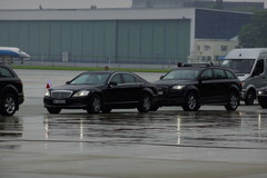Air Force One na lotnisku Okęcie
