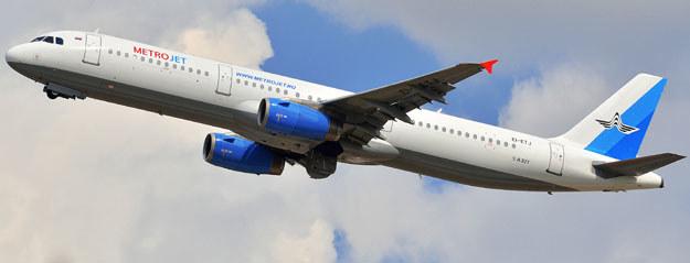 Airbus-321 linii czarterowych Kogalymavia /AFP