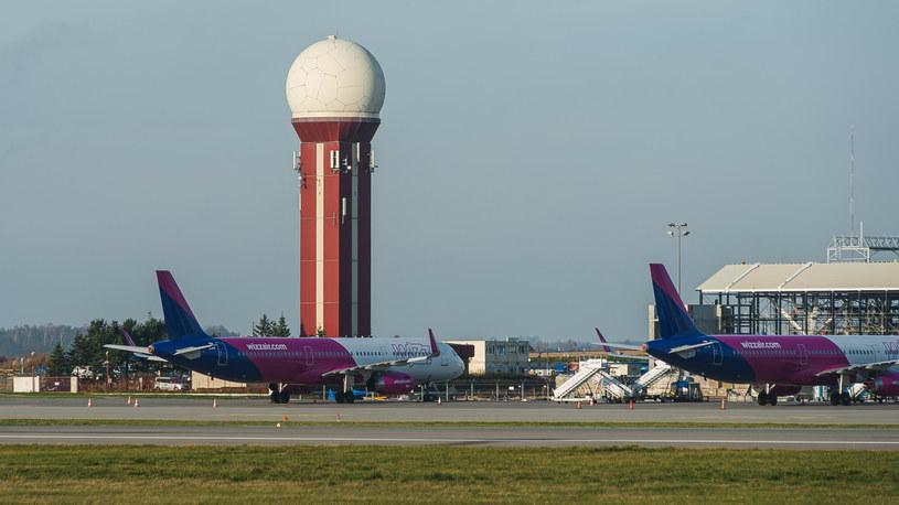 Airbus A320-232 Wizz Air w Porcie Lotniczym im. Lecha Wałęsy (zdjęcie ilustracyjne) /East News