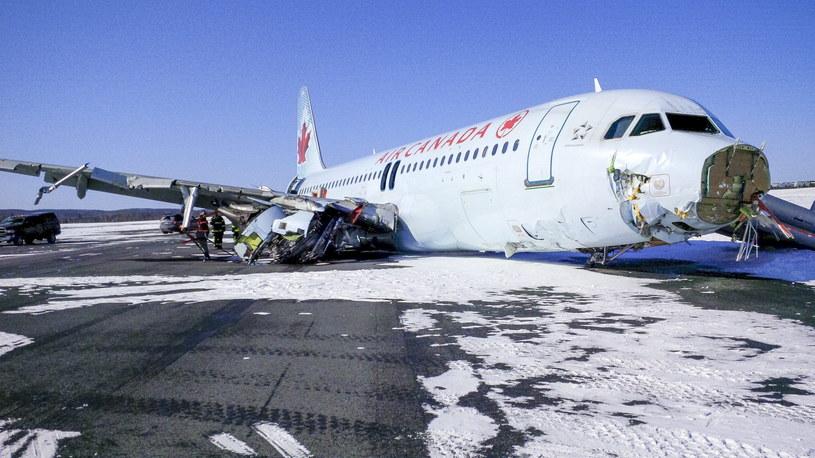 Airbus A320 linii Air Canada /PAP/EPA