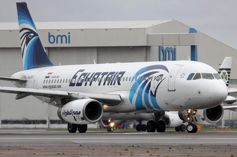 Airbus A320 linii EgyptAir /PAP/EPA