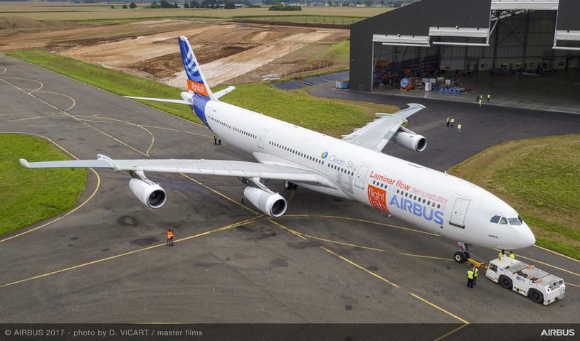 Airbus A340 ze skrzydłami Blade /materiały prasowe