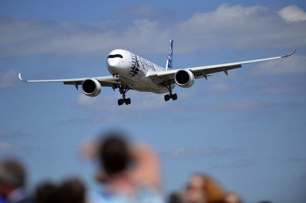 Airbus A350-900 w Farnborough /AFP