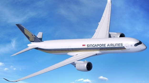 Airbus A350-900ULR w barwach Singapore Airlines /materiały prasowe